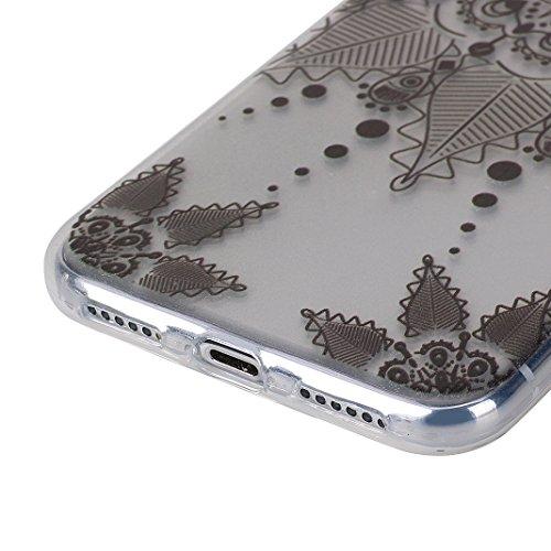 2pcs Cover Soft per iPhone X, Asnlove Morbida Elegante Caso Ultra Sottile TPU Gomma Gel Custodia Motif di Colore Cassa Antiurto Silicone Trasparente Case Posteriore Per iPhone X, Gruppo-3 Gruppo-4