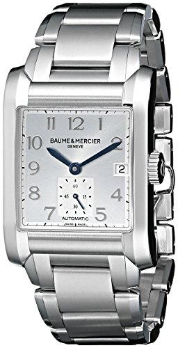 Baume Mercier Hampton Men's Automatic Silver Steel Bracelet & Case Watch A10047
