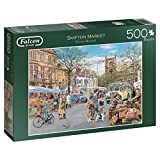 Falcon de luxe Skipton Market Jigsaw Puzzle (500-Piece)