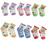 #8: DCS Soft cotton socks for Baby (6-12Months) ( Pack of 6 pair )