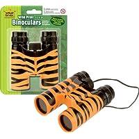 Wild Republic - Binocular, prismáticos de Juguete con diseño Tigre, 12 cm (85173)