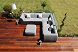 Napoli Fabric Outdoor Garden Furniture Sunbrella Sofa Set