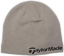 TaylorMade Golf TM Beanie, Grey, One Size