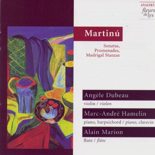 Promenades, Cinq Stanzas Madrigaux Et Autres Sonates Pour Trio