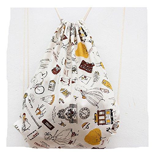 genießen sacchetto turn sacchetto custodia Sacchetto fotocamera Hipster sacchetto di iuta borsa da spiaggia borsa da viaggio dipingere
