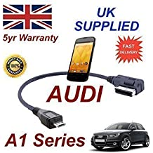 AUDI A1 Series 2011+ AMI MMI Cable Para LG Google Nexus 4 teléfono 4F0051510M Cable MICRO-USB