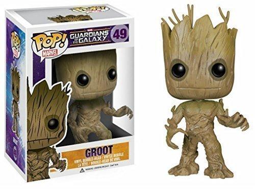 Groot-Cabeza-Grande-Funko-Pop-Figura-De-Vinilo-Guardianes-De-La-Galaxia
