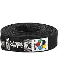 Venum Karate Belt - Cinturón de karate, color negro, 280 cm