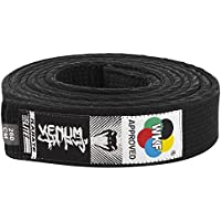 VENUM Karate Belt - Cinturón de Karate, Color Negro, 280 cm