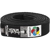 VENUM Karate Belt - Cinturón de Karate, Color Negro, 300 cm