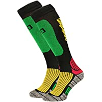 Horsefeathers Hombre Calcetines Lance Función Calcetines Thermolite (5 – 7), Color Rasta,