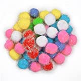 #10: Asian Hobby Crafts Pom Pom Balls - 24 Pieces