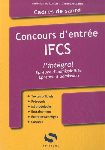 Concours Entrée IFCS - l'intégral