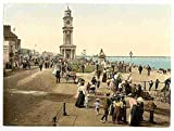 Photo Clock tower Herne Bay A4 10x8 Poster Print