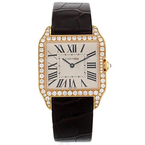 cartier-santos-dumont-wh100351-factory-diamond-18k-rose-gold-quartz-ladies-watch