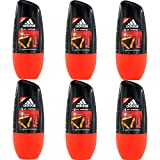 6 x 50ml Adidas EXTREME POWER Roll On Deo Deodorant Rollon Deostick Herrendeo
