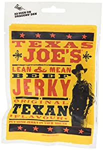 Texas Joe's Original Marinated Smoked Beef Jerky 50g