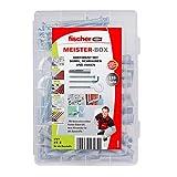 Surtido de tacos Ux-R, tornillos y ganchos Fischer 513894