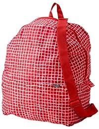 Ikea - Mochila, color rojo y blanco