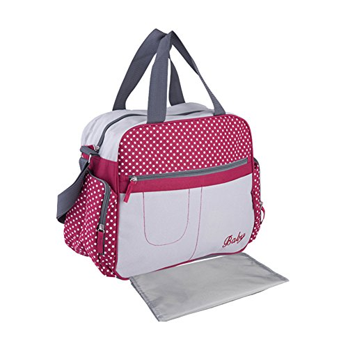 Yimidear Wasserdicht Multifunktion - Wickeltasche Baby Reisen Tasche Handtasche Schultertasche