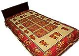 AS42 Sanganeri Printed Single Bedsheet