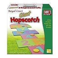 The Magic Toy Shop Giant Hop Scotch Indoor Outdoor Garden Fun Family Hopscotch Game Set Foam Mat