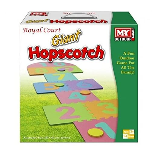 Giant-Hop-Scotch-Indoor-Outdoor-Garten-Spa-Familie-Hopscotch-Spiel-Set-Schaum-Matte