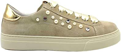 Nero Giardini Junior P930920F Ivory Sneakers Donna Bambina Casual