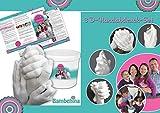 3D-Handabdruck-Set für Familie oder Großeltern, Hochzeitspaar, Kinder, Babys, ...eine zauberhafte Erinnerung in 3 D