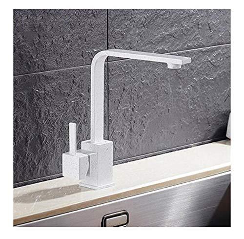 Freies Verschiffen poliert schwarz Messing Swivel Kitchen Sinks Hahn 360 Grad Küchen-Mischbatterie 30H,30W