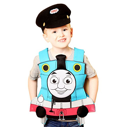 Tank Tabard & Hat Boys Fancy Dress Party Costume by VMC Accessories (Thomas Und Seine Freunde-kostüme)