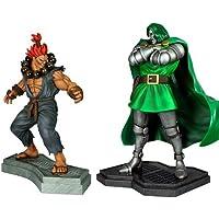 Hollywood Collectibles - Doom Vs Akuma 1.4 set estatua (H9276)