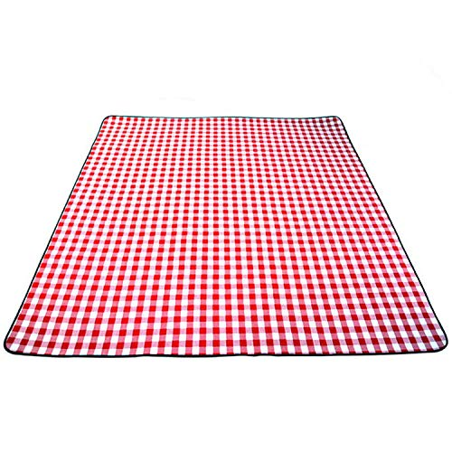LIAN Store Dicke Polsterung, atmungsaktive weiche Decke für Outdoor Camping Strand Plaid Picknickmatte