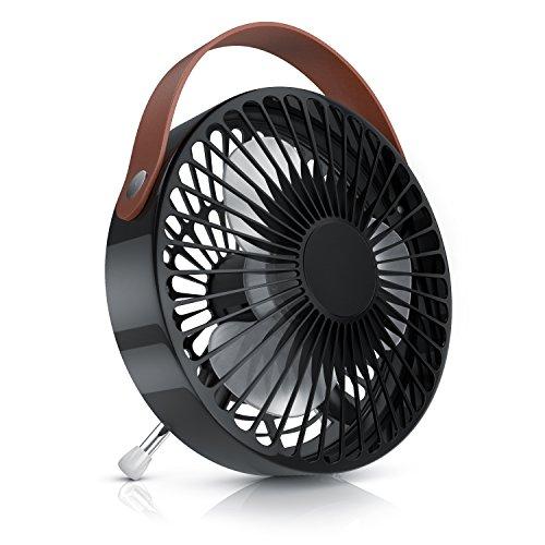 CSL - Ventilador USB | Ventilador de Mesa/USB Desk Fan/Ventilador de Escritorio...
