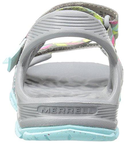 Merrell Mi Hydro Drift, Scarpe da Arrampicata Bambina Multicolore (Grey/Multi)