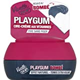 Vivelle Dop - Playgum - Cire crème aux vitamines, fixe sans figer, effet bombé naturel - Le pot de 80ml - Prix Unitaire - Livraison Gratuit Sous 3 Jours