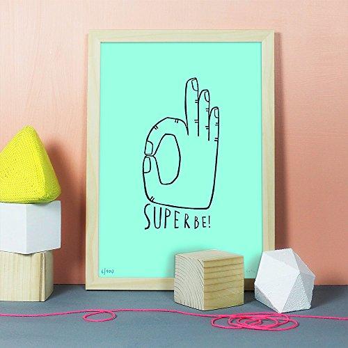 Superbe | Linolschnitt