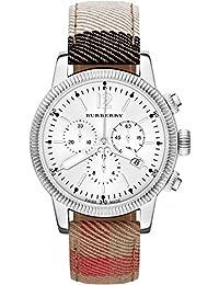 Para hombre Burberry el Utilitario House Check BU7820 – Reloj cronógrafo