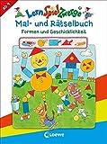 LernSpielZwerge Mal- und Rätselbuch – Formen und Geschicklichkeit