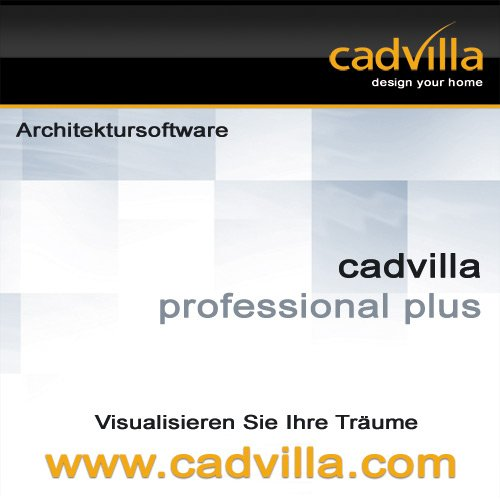 cadvilla professional plus, Architektur 2D/3D CAD Software / Programm