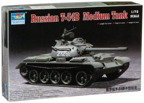 Trumpeter 7281  - Tanque Medio T-54B Ruso