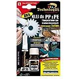 SUPER GLUE-CLEAR GEL für PP PE, PP, PE, PTFE, Silikon
