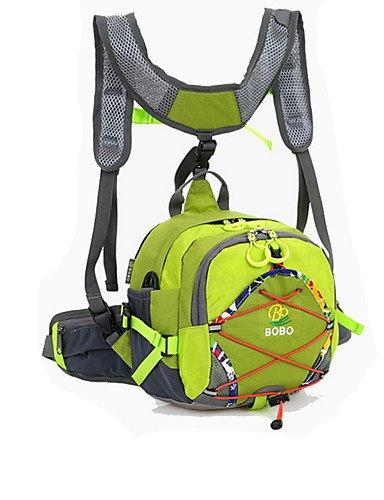 ZQ 20L L Gürteltasche Camping & Wandern / Klettern Draußen Feuchtigkeitsundurchlässig / tragbar / Multifunktions Gelb / Grün / Rot / Blau Yellow