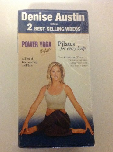 (2 vhs) boxed pilates for every Body & Power Yoga Plus - Denise Austin by Artisan
