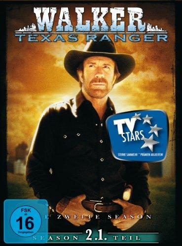 Walker, Texas Ranger - Season 2.1 (3 DVDs)