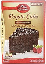 Betty Crocker Royale Cake Triple Chocolate, 610 gm