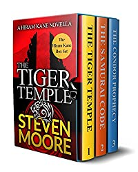 The Hiram Kane Adventures Box Set 1-3: The Tiger Temple, The Samurai Code & The Condor Prophecy