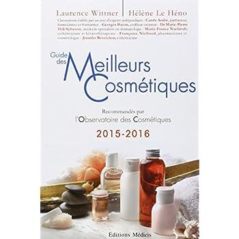 Guide des meilleurs cosmétiques 2015-2016
