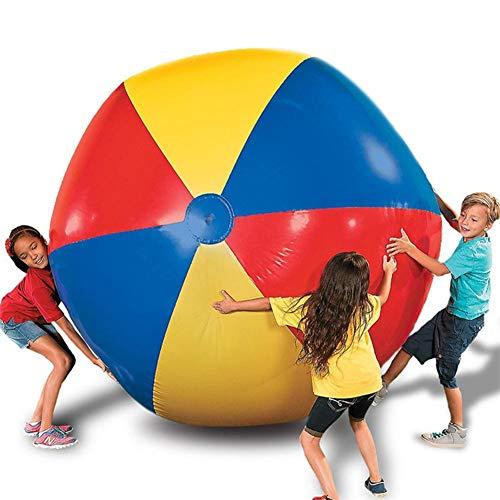 r Wasserball, 3-Color verdickt PVC-Volleyball-dekoratives Spielzeug Sommer Strand Pool Party Supplies Strand Spielzeug Für Kinder Erwachsene ()