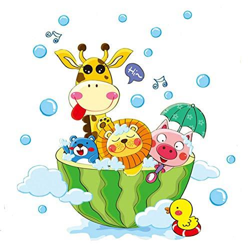 n Der Badewanne Dusche Wandaufkleber Bad Blasen Aufkleber Für Kinderzimmer Baby Room Home Decoration Art Decals Decor ()
